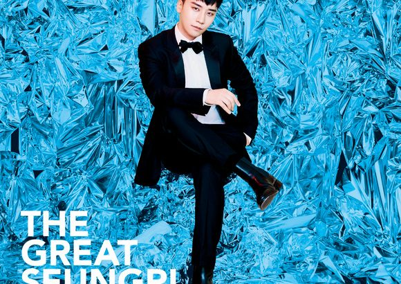 BIGBANGのV.I、日本ニューアルバム「THE GREAT SEUNGRI」のジャケット写真を公開