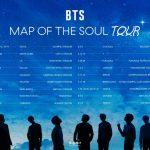 防弾少年団、ワールドツアー「MAP OF THE SOUL TOUR」開催決定!