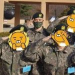元BIGBANGのV.I 入隊後の写真公開