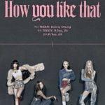 BLACKPINK  タイトル曲「How You Like That」予告ポスターを公開
