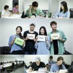 ソ・イングク、MBCの新水木ドラマ「ショッピング王ルイ」台本読み合わせに