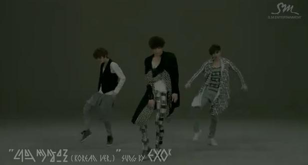 EXO-K/EXO-M 新曲『History』M/V
