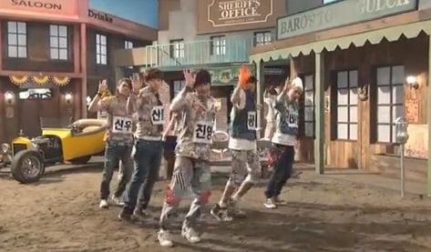 B1A4『Baby Good Night』ダンス練習動画