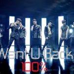100% 新曲『Want U Back』ティザー2M/V動画