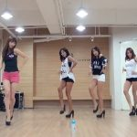 SISTAR『Give It To Me』ダンス練習動画