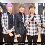 LEDApple Japan 1st Single comment