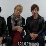 CODE-V インタビュー
