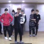 防弾少年団 when BTS was practicing the showcase