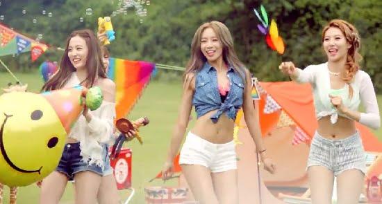 BESTie『Hot Baby』フルM/V動画