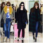 少女時代の空港ファッション