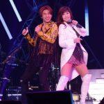 D-LITE、東京公演で山本リンダとコラボ