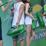 iKONのBOBBY&カン・ソラ&イ・ヨン「スプライトシャワー」イベントに参加
