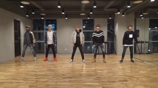 新人ボーイズグループMAP6、『Storm』Dance Practice