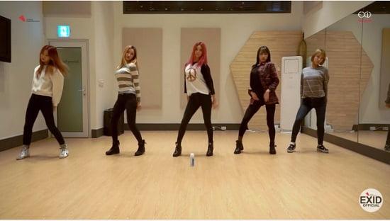 EXID、『HOTPINK』Dance Practice