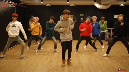 UP10TION、『Catch me!』Dance Practice