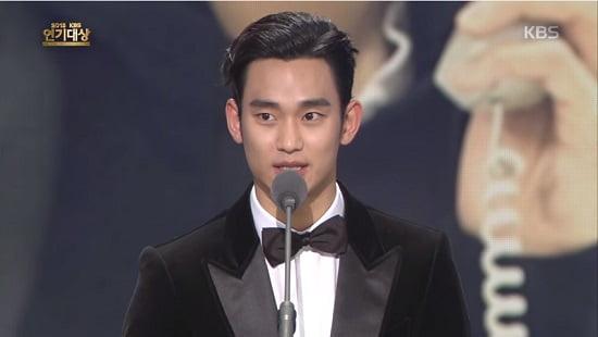 「2015 KBS演技大賞」授賞式 動画