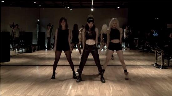 新人ガールズグループ「BLACKPINK」、DANCE PRACTICE VIDEO