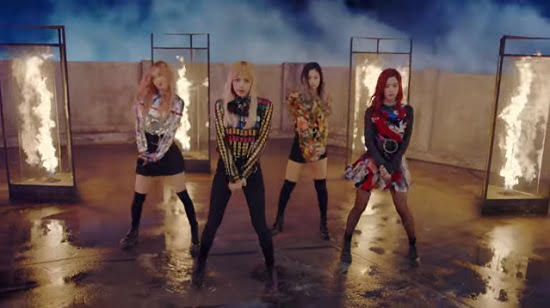 BLACKPINK、『PLAYING WITH FIRE』フルM/V動画