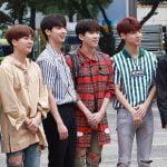 BOYFRIEND, CLC, GFRIEND, NCT Dream, DIA, Wanna One、ミュージックバンク出勤