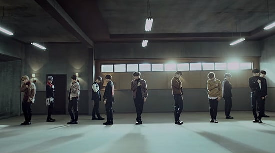 Wanna One 『Beautiful(Performance ver.)』フルM/V動画