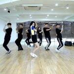 Nine Musesギョンリ、『BLUE MOON』Dance Practice