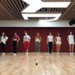 TWICE 『Dance The Night Away』Dance Video (NEW JYP Practice Room Ver.)
