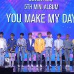 SEVENTEEN アルバム「YOU MAKE MY DAY」Showcase