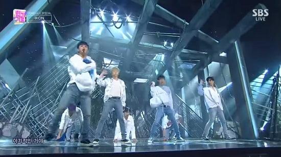 iKON、『KILLING ME』SBS Inkigayo