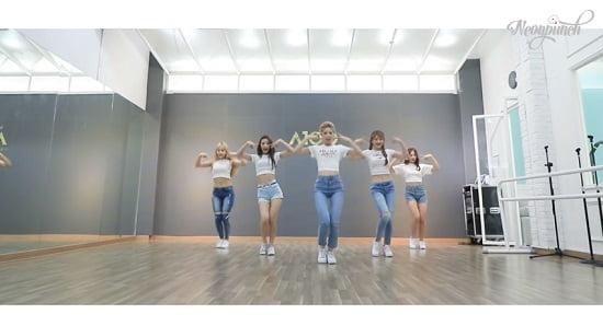 新人ガールズグループNeonPunch、 『MoonLight』Dance Practice
