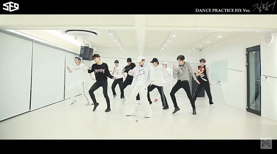 SF9、『Now or Never』Dance Practice Video FIX ver.