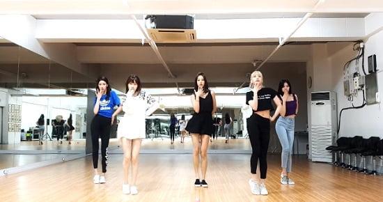 LABOUM 5thニューシングル『Between Us』Dance Practice
