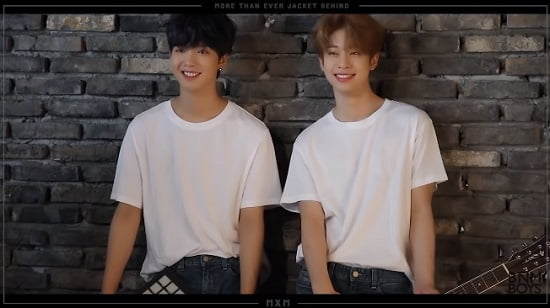 MXM、アルバム「MORE THAN EVER」JACKET BEHIND