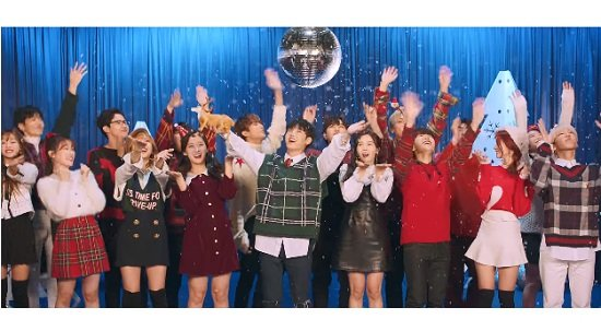 B1A4&OH MY GIRL&ONF、『Timing』フルM/V動画