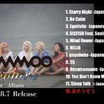 MAMAMOO 日本1stアルバム 「4colors」トレーラー映像公開