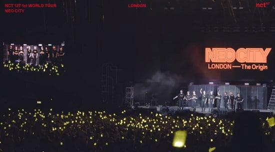 NCT 127、イギリスでの単独コンサートビハインド映像を公開