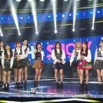 IZ*ONE SBS MTV「The Show」1位獲得し4冠達成