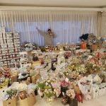 イ・ミンホ 部屋を埋め尽くす誕生日プレゼント&花束