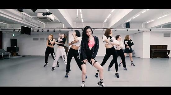 元Wonder Girlsソンミ、新曲『pporappippam』振り付け映像を公開