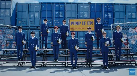 Golden Child 2ndシングル『Pump It Up』M/V公開