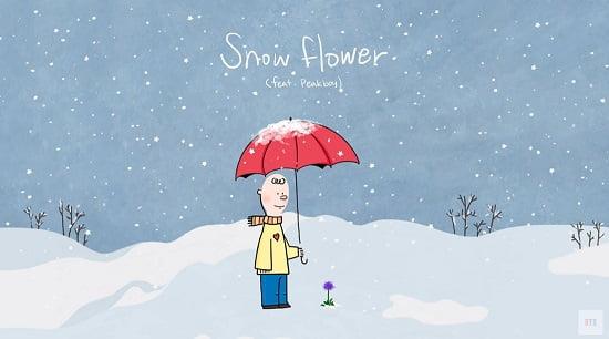 防弾少年団V、 クリスマスを迎えて新曲『Snow Flower』を公開