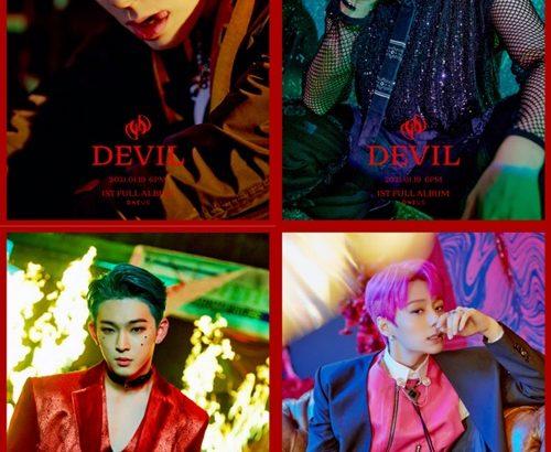 ONEUS 新アルバム「DEVIL」のコンセプトフォトを公開!
