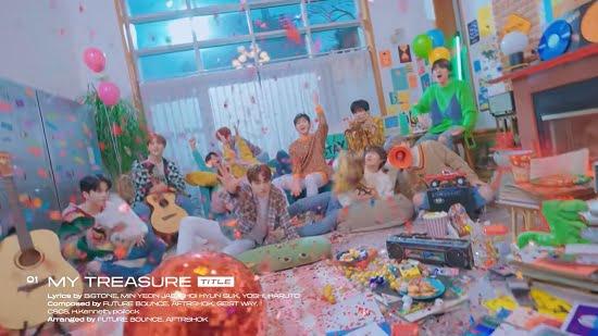 TREASURE 1stフルアルバム「THE FIRST STEP:TREASURE EFFECT」サンプラー映像を公開