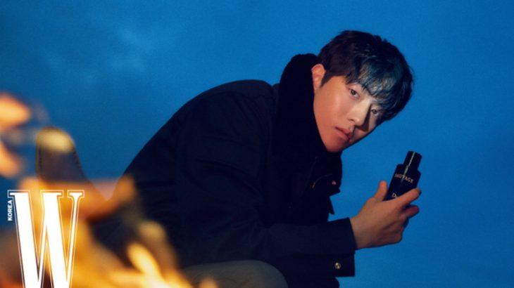 ナム・ジュヒョク ファッション誌「W KOREA」2月号のグラビアに登場