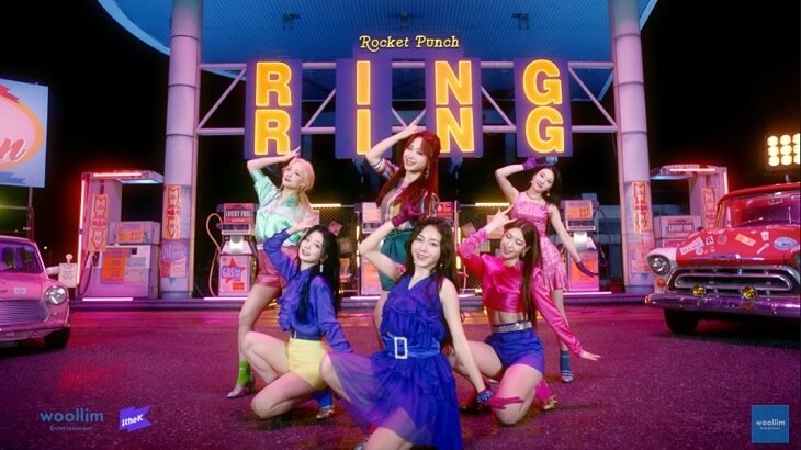 Rocket Punch、1stシングル『Ring Ring』パフォーマンス映像公開