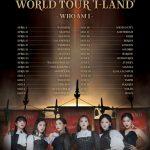 (G)I-DLE 初のワールドツアー「I-LAND : WHO AM I」を32都市で開催