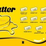 BTS(防弾少年団)、ニューデジタルシングル「Butter」コンセプトクリップを公開
