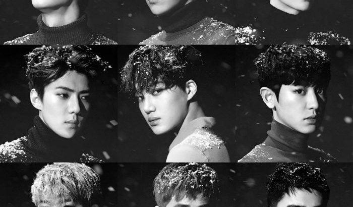 EXO、ニューアルバム「Sing For You」をリリースする