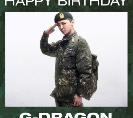 G-DRAGONの軍服姿!誕生日を祝うYGヤン・ヒョンソク代表の投稿が話題