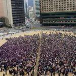 防弾少年団 ファン1万人がソウル広場に大集合…ファンイベント「RUN ARMY in ACTION」開催