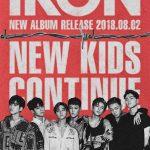 iKON、ニューアルバム「NEW KIDS:CONTINUE」予告ポスターを公開